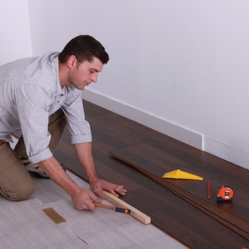 Laminate installation | Piedmont Floors