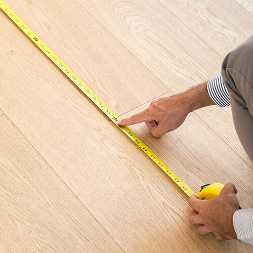 Hardwood measurement | Piedmont Floors
