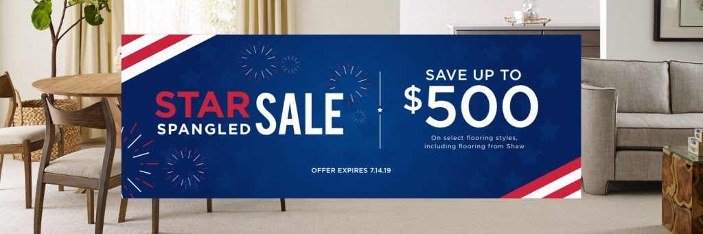 Star spangled sale banner | Piedmont Floors
