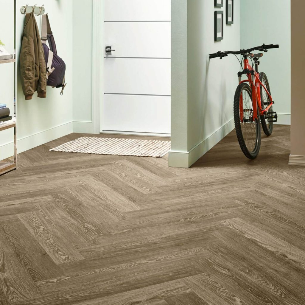 Bicycle on flooring | Piedmont Floors