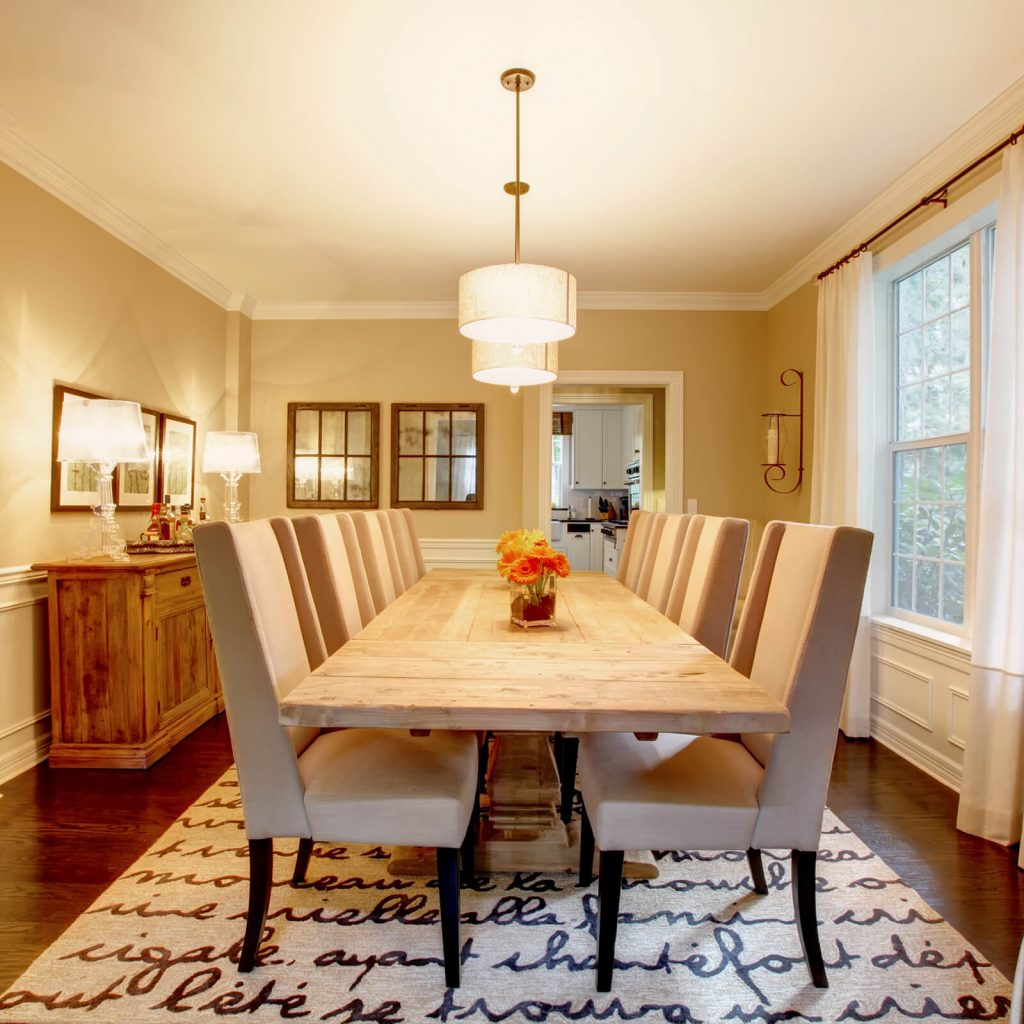 Choosing the Best Rug for Your Dining Room | Piedmont Floors